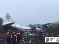 Letecká tragédia na Ukrajine! FOTO Neúspešné núdzové pristátie, hlásia mŕtvych