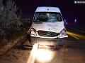 Smrteľná nehoda na východe: FOTO Chodca zrazila dodávka, jeho život vyhasol zbytočne
