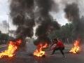 Krvavé protivládne protesty v Iraku neustále pokračujú, vyžiadali si už 42 mŕtvych