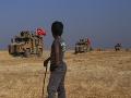 Erdogan avizoval, že vojensky zasiahne voči Kurdom na sýrskej strane hraníc