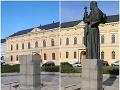 Slováci uverili hoaxu! Sochu v Nitre nikto neukradol, ten obrovský nedostatok na FOTO sa nedá prehliadnuť