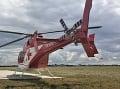 Vážna nehoda pri Turzovke: Pri zrážke motocykla s autom musel zasahovať aj vrtuľník