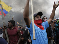 V Ekvádore to vrie! FOTO Protesty sa menia na násilné demonštrácie proti zrušeniu dotácií