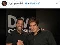David Copperfield na svoj vek nevyzerá.