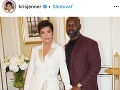 Kris Jenner so svojim partnerom.