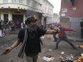 Protivládne protesty v Ekvádore sú plnom prúde: V rukách polície skončilo vyše 670 ľudí