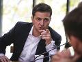 Zelenskyj chce tému Krymu predostrieť na rokovania: O tomto probléme sa nediskutuje