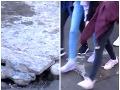 Slovák sa pri základnej škole prepadol pod zem: FOTO Zranený zostal uväznený v šachte
