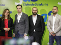 Zľava Zuzana Aufrichtová, Tomáš Popovič, Ladislav Miko a Polat Elalmis