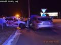 Hrozivá čelná zrážka v Košiciach: FOTO Vodič nezvládol zákrutu, jeden je ťažko zranený