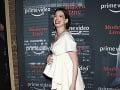 Anne Hathaway si slávnostnú premiéru užívala. Na červenom koberci vyzerala skvele.