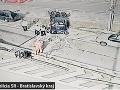 FOTO Vážna havária pri tuneli Sitina: Zdemolované autá a ochromená doprava