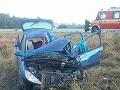 PRÁVE TERAZ Dopravná nehoda pri Leviciach si vyžiadala jednu obeť, cesta je uzatvorená