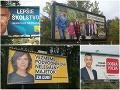 FOTO Bilbordová kampaň v rozpuku: Odborník hovorí o katastrofe, kotlebovci sú na smiech