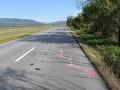 FOTO Poriadne opitý šofér (29) pri Prešove narazil do cyklistu, z miesta nehody ušiel