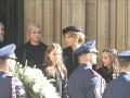 Vdova Ivana a štyri dcéry Karla Gotta na jeho pohrebe