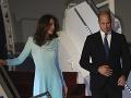 FOTO Princ William s manželkou pricestovali do Pakistanu: Pripravili pre nich červený koberec