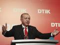 Turecký prezident v družnej debate s Putinom, hlavnou témou bola Sýria