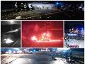 Ohnivé peklo na D1: VIDEO Hrdinovia ťahali ľudí z horiacich áut, dojímavé slová, jedna osoba im zhorela pred očami