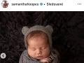 Samantha Hoopes sa s fanúšikmi delí o fotky svojho synčeka.