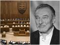 Smútočný úvod parlamentnej schôdze: VIDEO Poslanci si uctili zosnulého Gotta