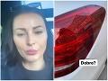 FOTO Kormúthová vytočená do biela: Auto má samý škrabanec... Kvôli TOMUTO!