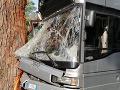 Nehoda v Ríme si vyžiadala desiatky zranených: Autobus v meste narazil do stromu