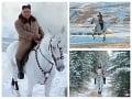 Martin na bielom koni dostal na frak: FOTO Kim Čong-un ukázal spanilú jazdu, chystá vraj niečo veľké