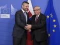 Juncker a Pellegrini spolu v Bruseli: Slávnostne uviedli do funkcie Európsky orgán práce