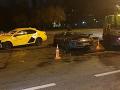 Autá po nehode ostali zničené