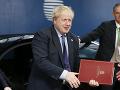 Boris Johnson vyzýva na podporu dohody o brexite: Chce posunúť krajinu vpred