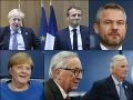 Kľúčový summit v Bruseli, VIDEO čaká sa na Britov: Pellegrini hovorí o rébuse, Johnson už chce vystúpiť