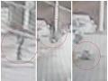 Zamrazí vás! VIDEO Muž letel vzduchom po tom, čo ho na priechode v Banskej Bystrici zrazila dievčina