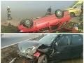 PRÁVE TERAZ Pri Starej Ľubovni zasahujú leteckí záchranári: Autá skončili mimo cesty, úsek je neprejazdný