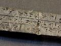 Tabuľa s písmom Linear B