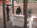 Farmári mysleli aj na občerstvenie a na statku pribudol svadobný bar.