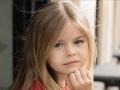 Šesťročná Alina z Ruska