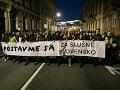Kauza Gorila zmobilizovala tisícky Slovákov: Protestné pochody žiadajú odstúpenie jej aktérov
