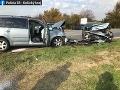 FOTO Smrteľná dopravná nehoda v Michalovciach: Vodič prešiel do protismeru