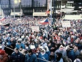 Po brutálnom zásahu polície počas demonštrácii v roku 1989 vznikli občianske hnutia