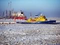 Ruský ľadoborec vyslal pri