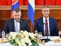 Výjazdové rokovanie vlády v Sobranciach: Ministri rozdelili viac ako 1,4 milióna eur