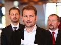 VIDEO Matovič zverejnil ďalšie správy medzi Glváčom a Kočnerom: Je to poriadny hnus!