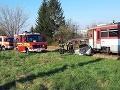 Zrážka vlaku a auta v Prievidzi: Vodič Ján (74) skončil v nemocnici, FOTO z miesta nehody