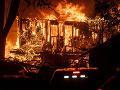 Obrovský lesný požiar v