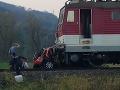PRÁVE TERAZ Smrteľná nehoda na východe Slovenska: FOTO Vodič (†68) auta neprežil zrážku s vlakom