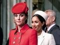 Dokonalá vojvodkyňa Kate opäť ohúrila! A Meghan? Už je z nej obyčajná mamina...