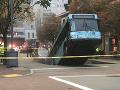 Cestujúci v Pittsburghu prežili desivé ráno: FOTO Pod autobusom sa prepadla cesta