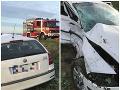 Dopravná nehoda medzi obcami