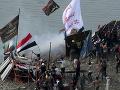 V Iraku to vrie! FOTO Demonštranti odmietajú spoluprácu opozície, chcú odstúpenie parlamentu